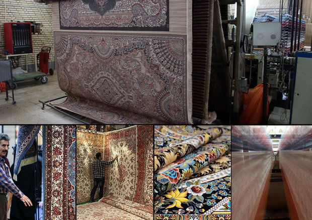 Kashan , the heart of machine made and hand made carpets and rugs