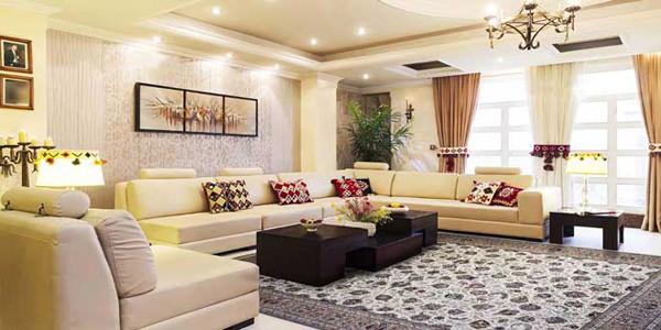 فرش افشان مناسب برای خانه های کوچک
